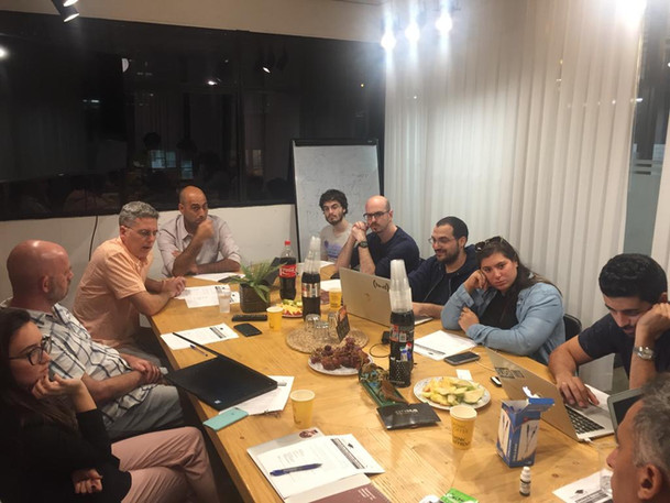 """A """"Founders Academy"""" night with some of our portfolio companies"""