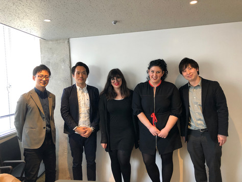 Meeting during our visit to Japan on April 2019