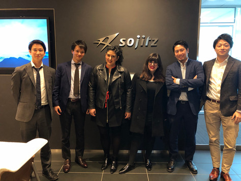 Meeting with Sojitz during our visit to Japan on April 2019