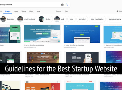 Guidelines for the Best Startup Website