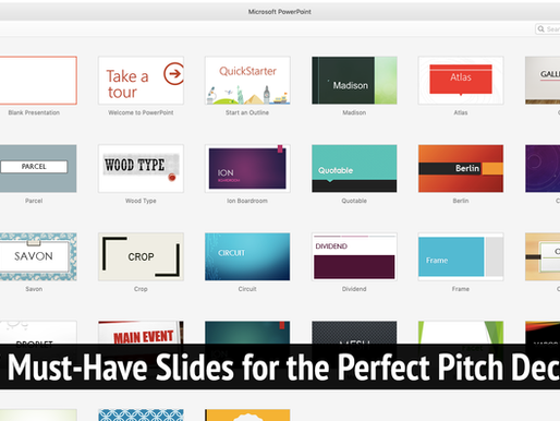 7 Must-Have Slides for the Perfect Pitch Deck