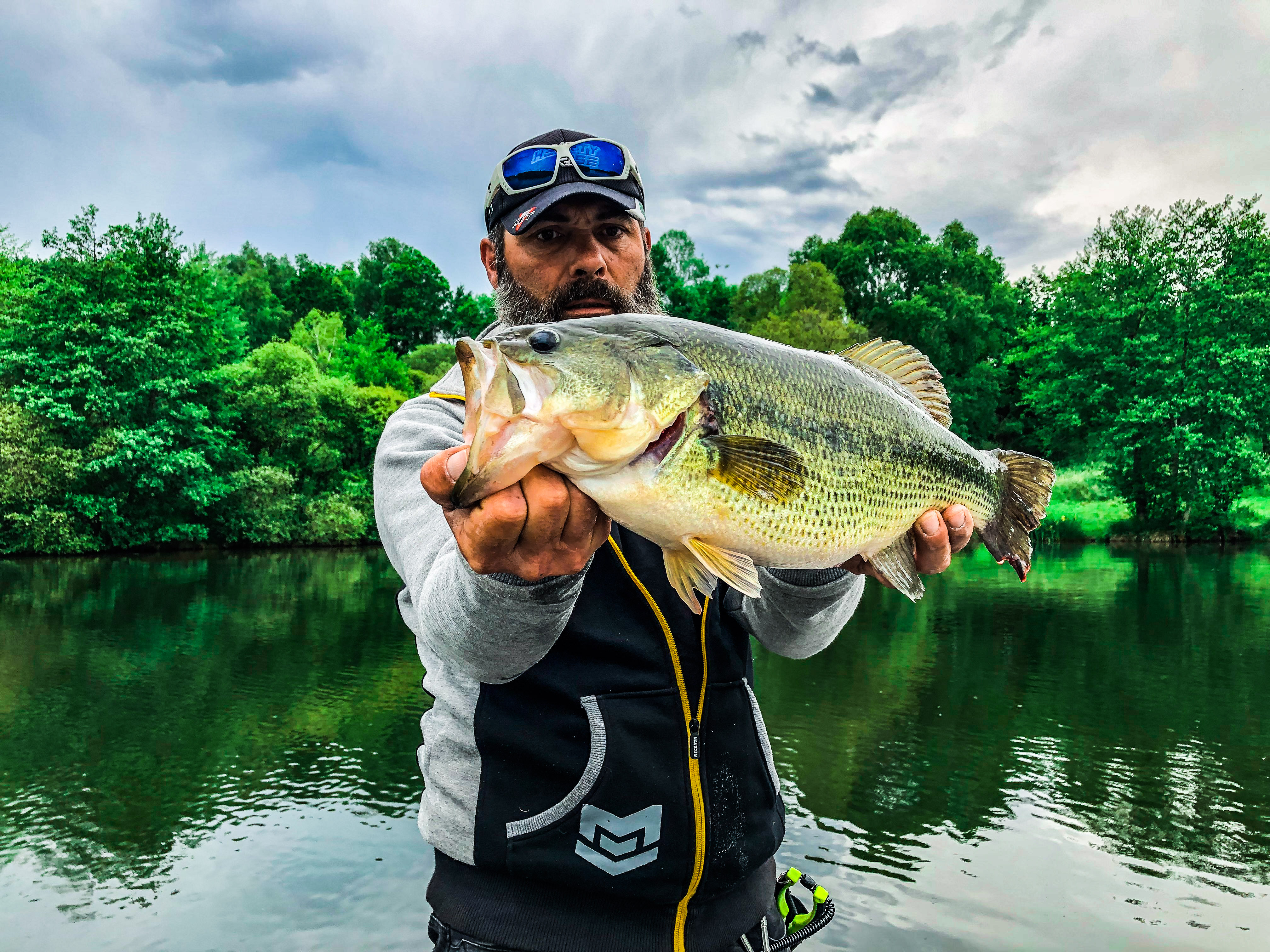 pêche black bass haute vienne