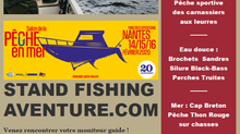 Stand Fishing Aventure Salon de Nantes 2020