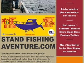 Stand Fishing Aventure Salon de Nantes 2020