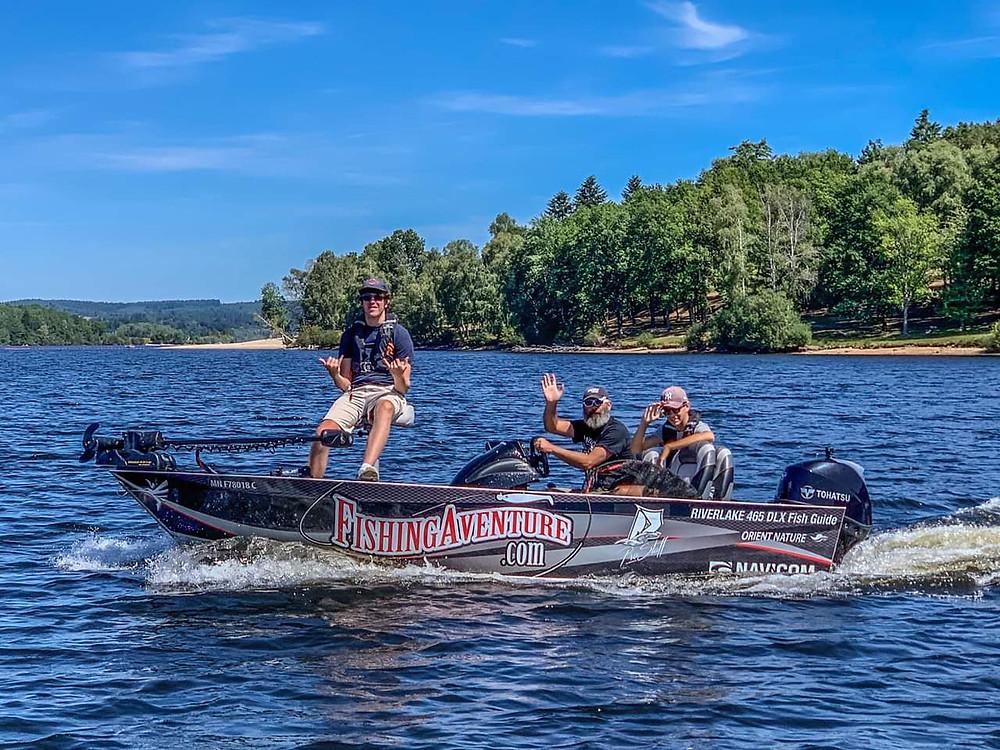 Stage pêche des carnassiers en bateau Haute-Vienne