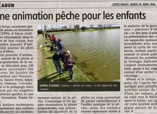 Animation pêche nature pour les enfants
