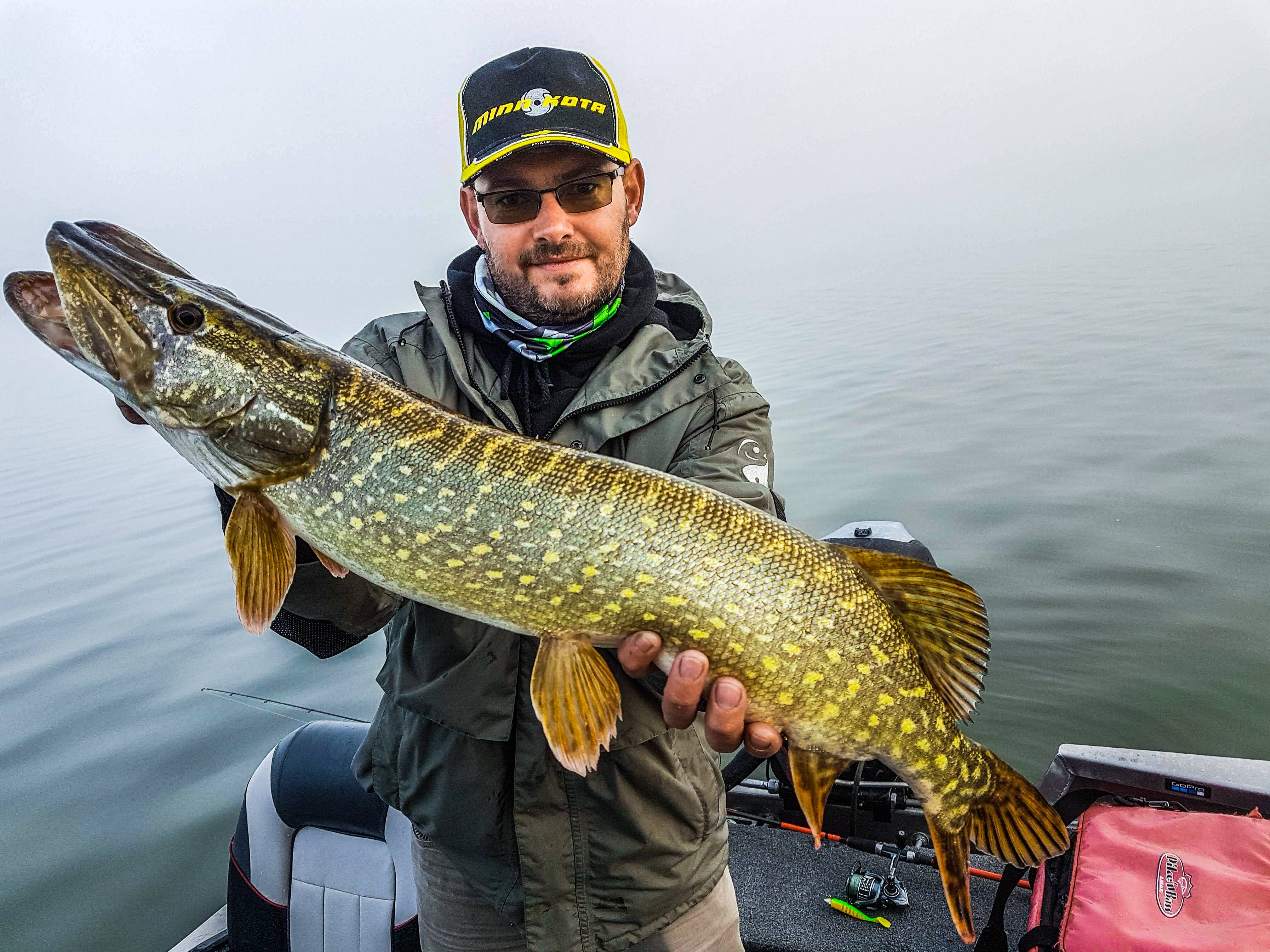 Pêche du Brochet lac d'Amance