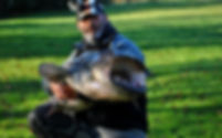 Cédrick Plasseau moniteur guide de pêche silure glane en Nouvelle Aquitaine