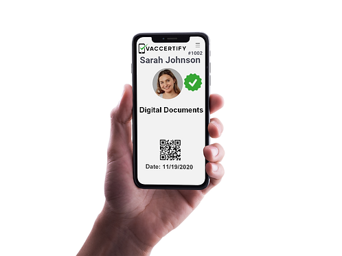 Digital Document Card - 7 Day Delivery