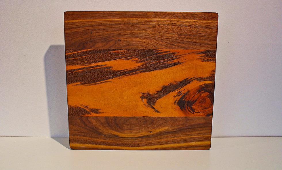 Walnut & Tiger Wood Cutting Board
