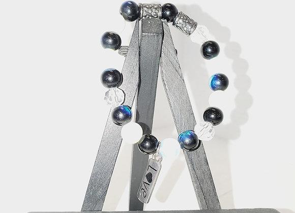 Blue and White Love Bracelet