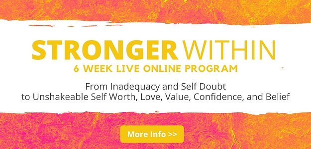 STRONGER WITHIN Program JULIET MARTINE b