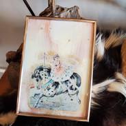 Vintage Circus Girl