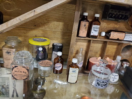 What To Display In Witch Cabinets & Apothecary Bottles