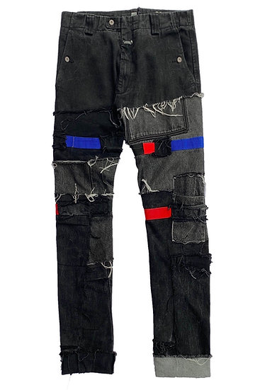 Patchwork Girbaud Denim