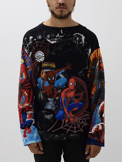 Spider-Man Patchwork Tee
