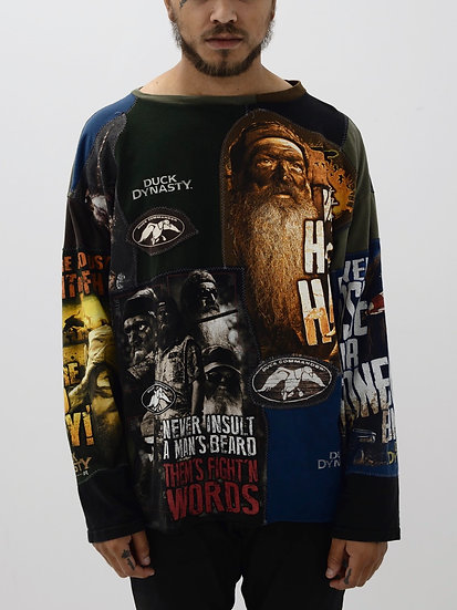 Duck Dynasty Patchwork Tee