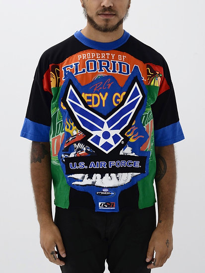 Air Force Patchwork Tee