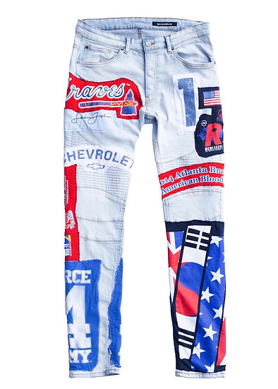 American Blood Patch Jeans