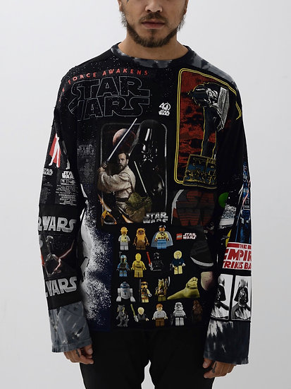 Star Wars Patchwork Tee