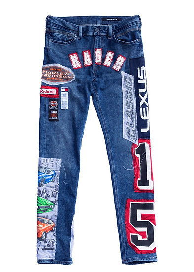 Rager Patch Denim Jeans