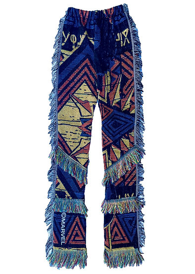 Black Panther Tapestry Pants