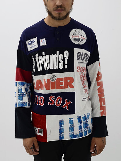 Got Friends? Patchwork Tee