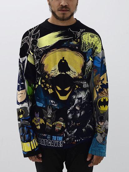 Batman Patchwork Tee
