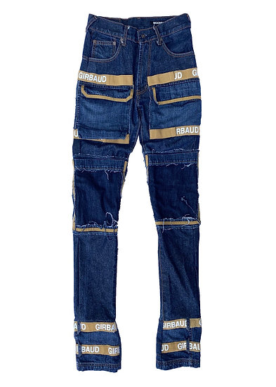 Evisu x Girbaud Patchwork Denim