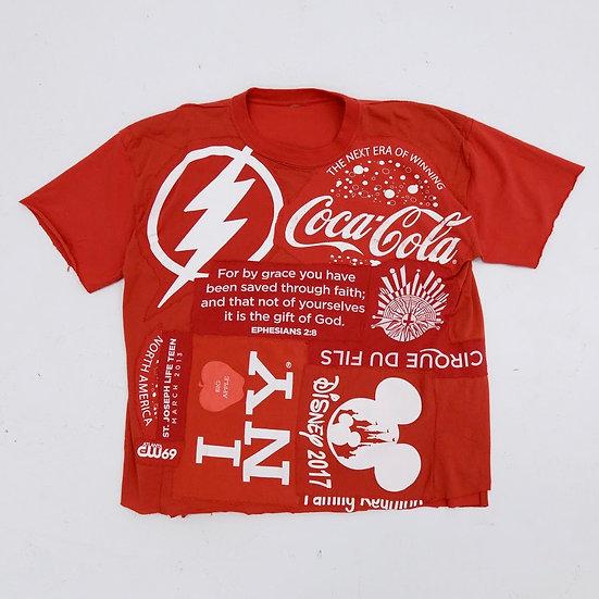 Coca-Cola Patchwork Tee