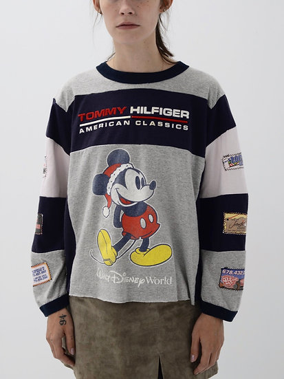 Mickey Mouse Patchwork Tee