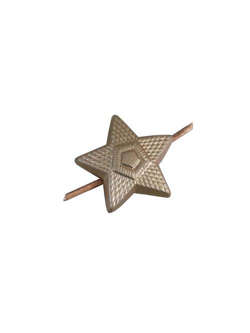 チェコ軍 ピンバッジ 星型 大 a