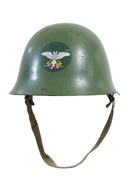 ユーゴスラビア(セルビア)軍 M59/85 スチールヘルメット 防空軍