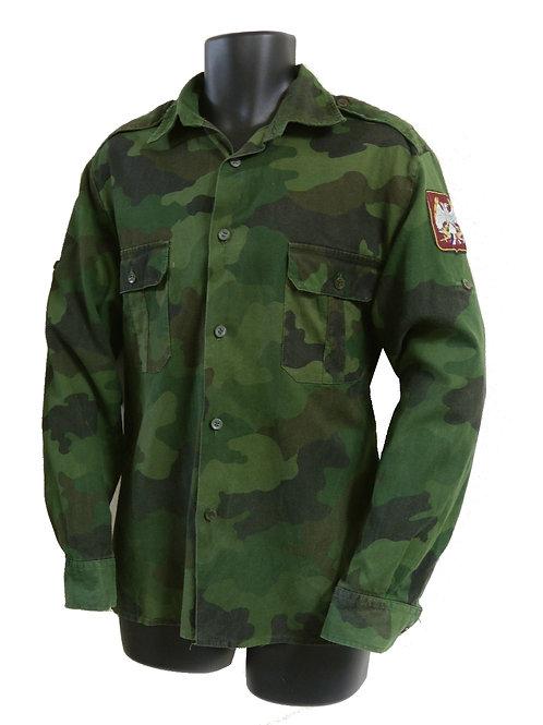 ユーゴスラビア軍 フィールドシャツ 濃緑