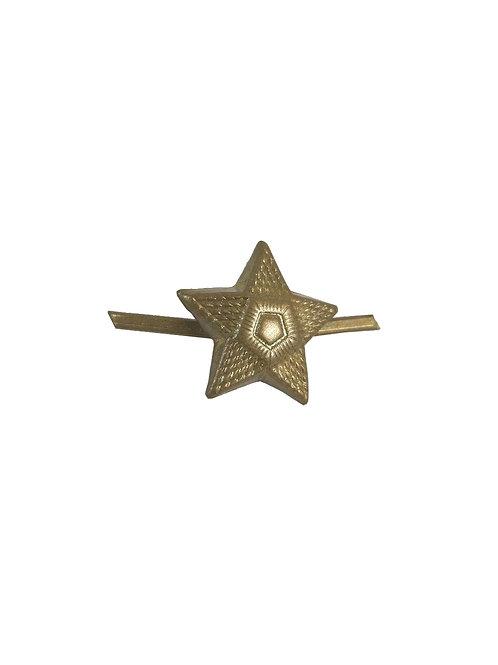 チェコ軍 ピンバッジ 星型 小 b