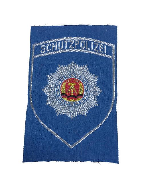 東ドイツ警察 ワッペン Schutz polizei 【新品】