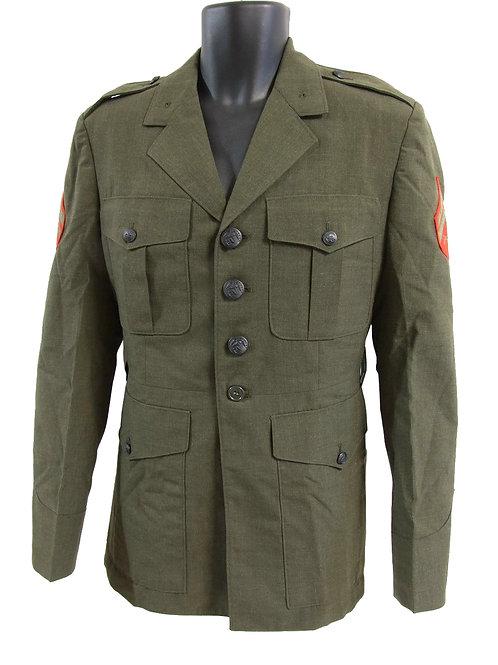 アメリカ軍 USMC 80's ドレスジャケット 上等兵 M