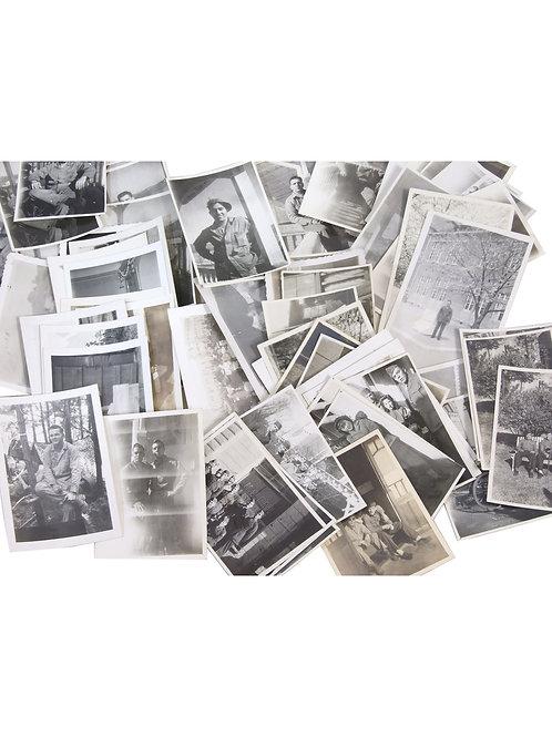 アメリカ軍 WW2 USMC 第6海兵師団 青島駐留写真 54種65枚