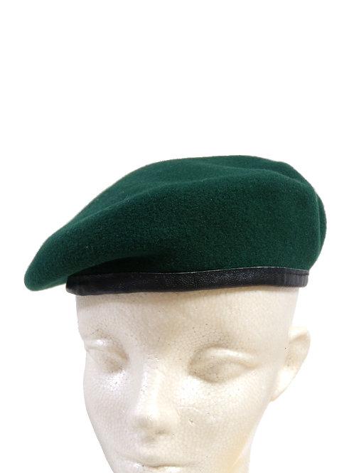 オーストリア軍 ベレー帽 グリーン/ブラック
