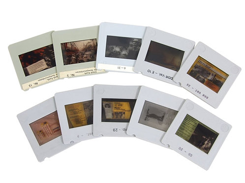 東ドイツ スライド用 ポジフィルム 10枚セット