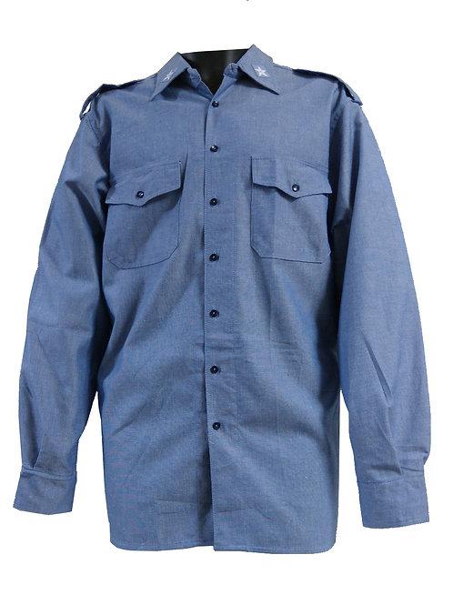 イタリア軍 ネイビー シャツ XL ※表記52R 【新品】【B品】