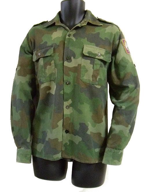 ユーゴスラビア軍 フィールドシャツ 明緑