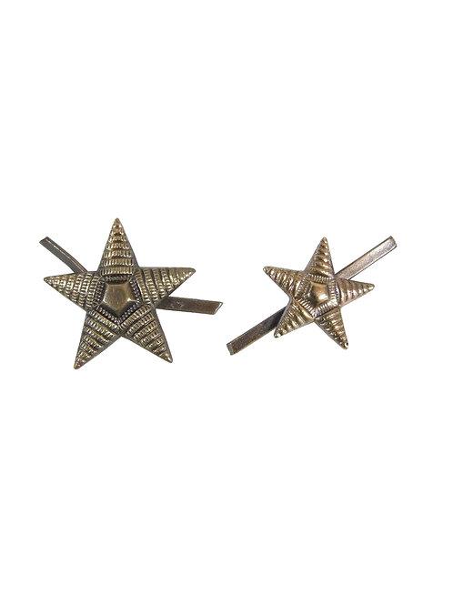 ブルガリア軍 ピンバッジ 星型 佐官用?