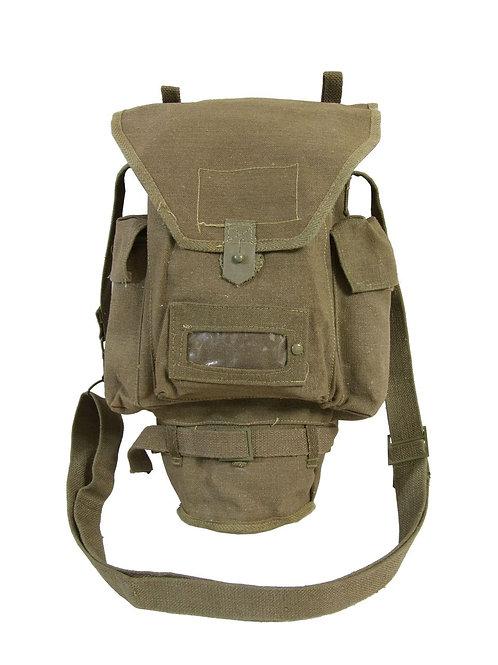 イタリア軍 コットン ガスマスクバッグ