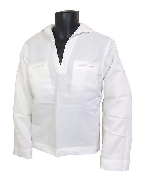 アメリカ軍 USN セーラーシャツ  ホワイト 【新品】