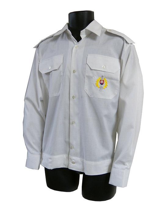 スロバキア軍 ドレスシャツ ホワイト 【新品】
