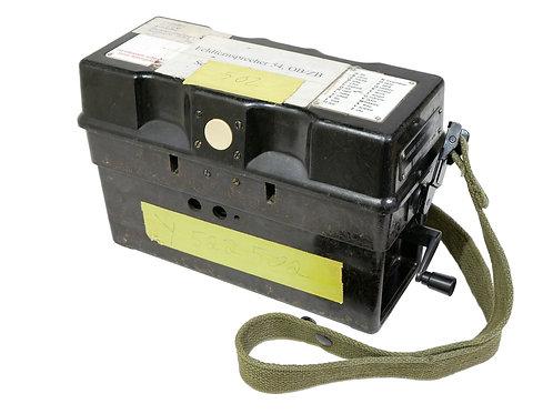 西ドイツ軍 野戦電話 FF54 OB/ZB ※パーツ欠け/受話器不良