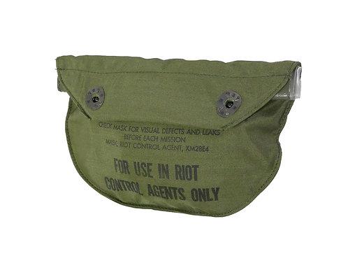 アメリカ軍 XM28用 ガスマスクポーチ XM19 【ボタン交換・中蓋切断】