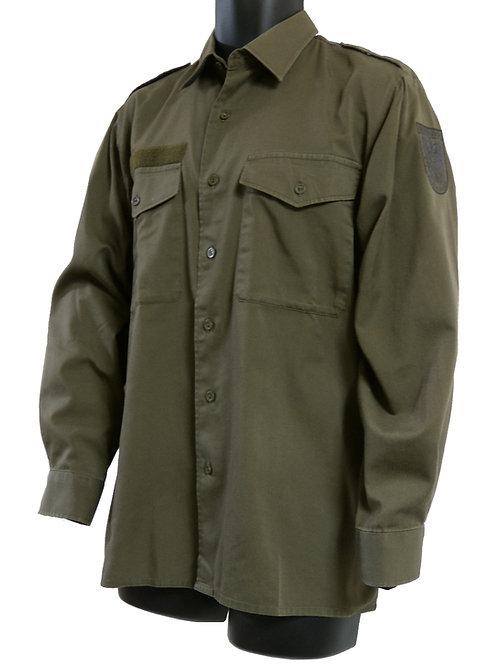 オーストリア軍 フィールドシャツ ライトウェイト OD
