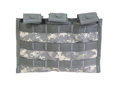 アメリカ軍 M4 トリプル マガジンポーチパネル ACU 【新品】